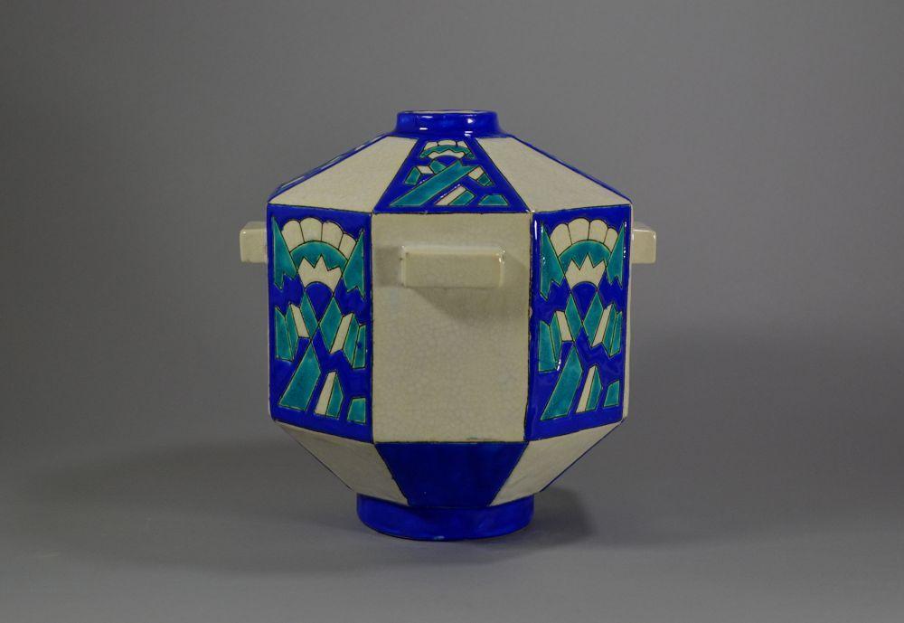 #2 CHARLES CATTEAU Boch Freres KERAMIS vase