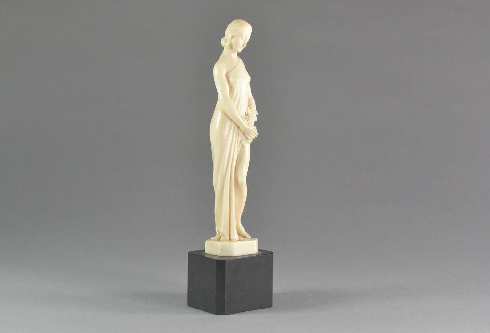 Armand Boulard art deco ivory figure