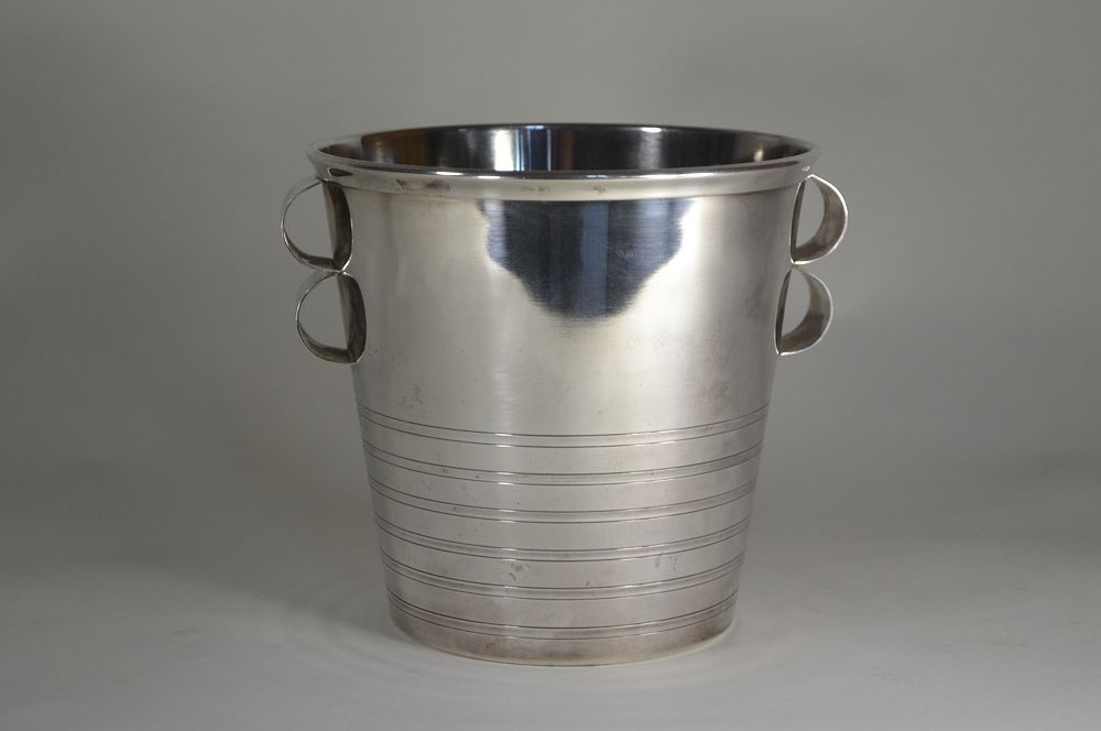 Art deco silver plated champagne / Ice bucket