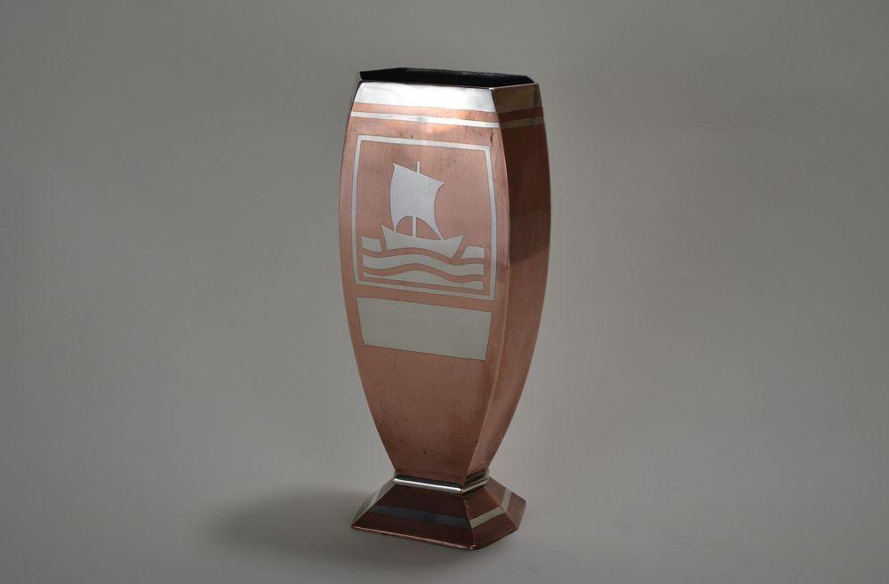 Luc Lanel for Christofle vase / trophy