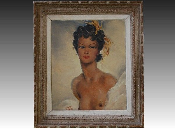 Georges Duc oil painting