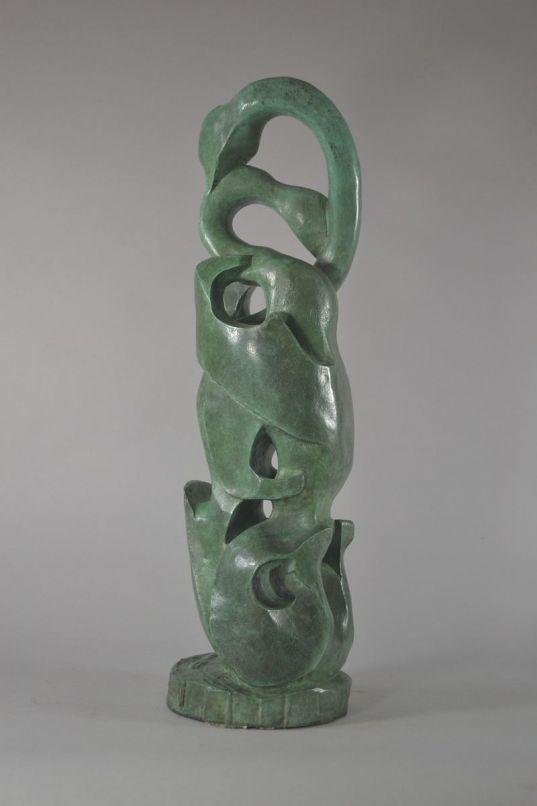 Guy Cornudet bronze sculpture