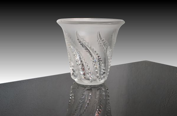 lalique vase fougeres - Lalique Vase