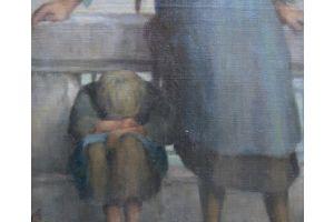 Francois Van Stichel. Oil on canvas.