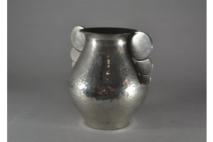 R. Delavan modernist art deco vase. Circa 1930