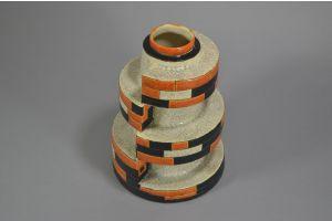 #6 CHARLES CATTEAU Boch Freres KERAMIS vase