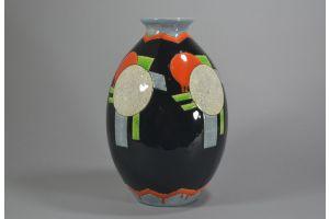 #4 CHARLES CATTEAU Boch Freres KERAMIS vase