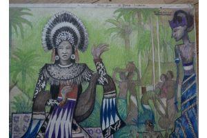 Raymond Diericks : Dancer from Java / Indonesia