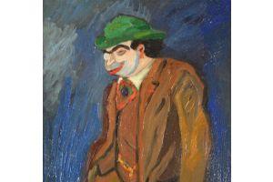 BIB Gerges Breitel (1888-1966) oil painting on cardboard
