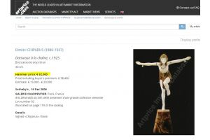 Dh Chiparus chryselephantine. Chain Dancer rare figure.