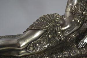 Demeter Chiparus. Cleopatra large bronze figure