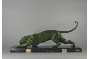 A DH Chiparus art deco rare panther