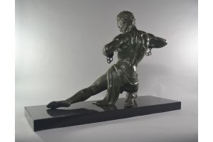 Rare and iconic Jean De Roncourt chained man