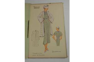 Summer 1935 - Fashion Magazine - 27 pochoir plates