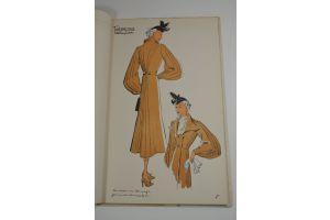 Spring 1937 - Fashion magazine - 26 pochoir plates