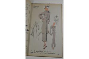 Winter 1935 - Fashion Magazine - 27 Pochoir plates
