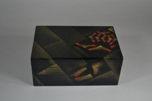 Jean Dunand large lacquer box