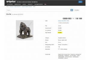 Herbert Geldhof bronze horse