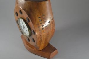 Hispano Suiza Early WWI plane propeller clock.