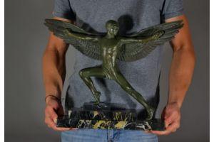 Max Le Verrier rare Icarus figure