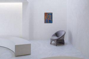 Nicola Issaiev (1891-1977) cubist composition