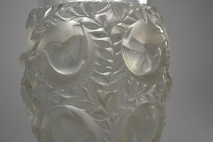 Lalique Chrystal vase