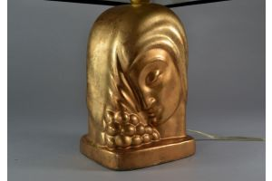 Figural lamp in the manner of Czaky / Orloff