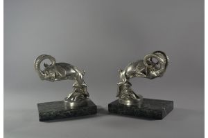 C. Laplagne mountain goat bookends / Car mascots