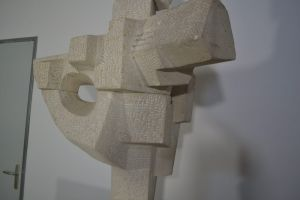 Karl Jean LONGUET stone sculpture - Mid century