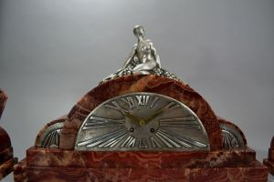 Geo Luc art deco clock