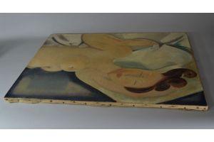 Louis Peronne oil on canvas. Modigliani era.