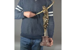 Paul Philippe. 58.5cm Tallest bronze version of