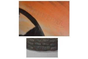Schneider & Trichard Art deco nouveau lamp