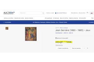 Jean Serriere enamel plate.
