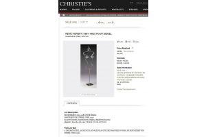 R. Herbst for Siegel modernist store display mannequin